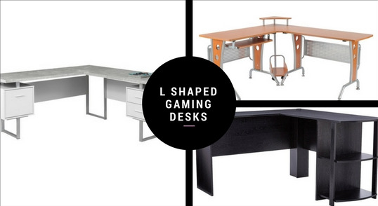 L shaped Gaming Desks